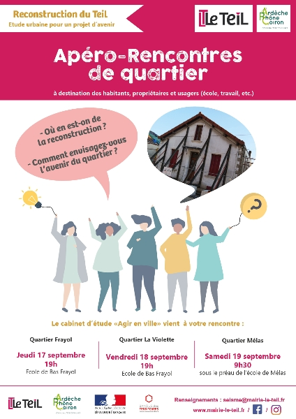 Reconstruction : apéro-rencontre de quartier